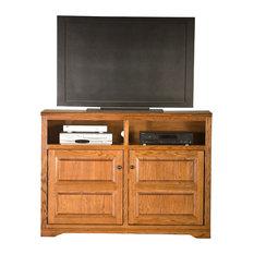 Eagle Furniture Oak Ridge 55-inch Entertainment Console Medium Oak