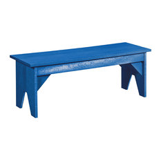 Generations Lifestyle Outdoor Bench, Blue