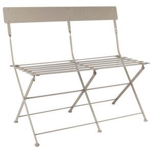 Steel Folding Bistro Bench