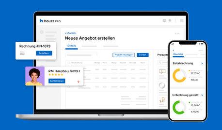 Entdecken Sie die Business-Software Houzz Pro für Design-Profis