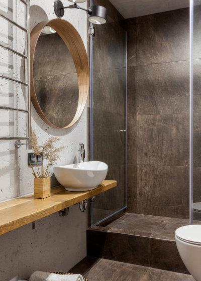 Современный Ванная комната by Мельникова Светлана