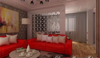 Дизайн-проект интерьеров Зала и Кухни в городской квартире.