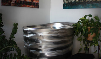 Stainless Steel Elliptical Japanese Deep Soaking Tub