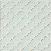 Flora Glass Mosaic Blend, White Linen