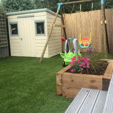 Low Maintenance Family Garden