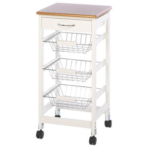 Koehler Home Indoor Decor Kitchen Table Trolley