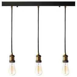 Industrial Pendant Lighting by Finesse Decor