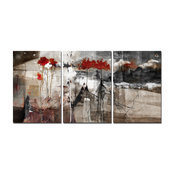 Abstract 3-Piece Canvas Wall Art