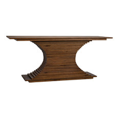 Noir Walnut Cambio Console Table With Dark Walnut Finish GCON294DW