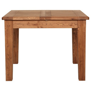 Rustic Manor Extendable Oak Dining Table, 100 Cm