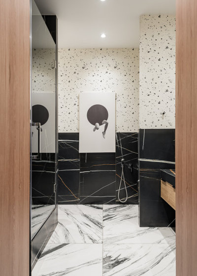 Модернизм Ванная комната by Александра Никулина