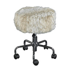 Tillie Snow Leopard Stool