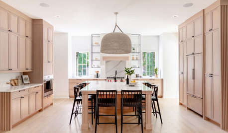 Kitchen of the Week: Light Wood Cabinets and Elegant Details