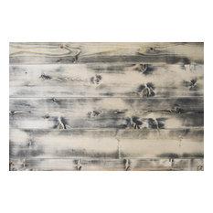 "Shiplap Wall Planks, Distressed Gray, 24"" 48"" 72"" Pre-Cut Lengths 25qft"