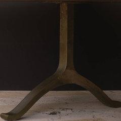 Bronze Wishbone/shaker Table Legs