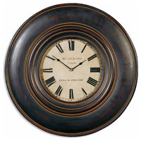 Uttermost Adonis Wall Clock, 24""