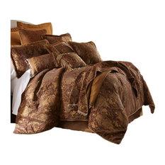 Sherry Kline China Art Brown 6-piece Comforter Set