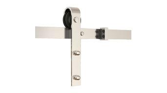 5 styles of soft close barn door hardware