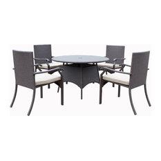 Vista 5-Piece Dining Set Outdoor Patio Furniture