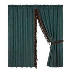 Del Rio Curtain With Fringe, Set of 2