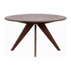 Marley Dining Table, Light Mahogany