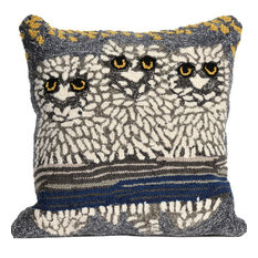 Frontporch Owls Night Square Pillow, 18""