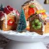 Børnevenlig og sukkersød julelandsby af kiks