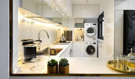 5 Stylish HDB Kitchen-Yard Combos