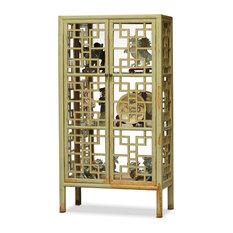 Elmwood Window Panel Bookcase