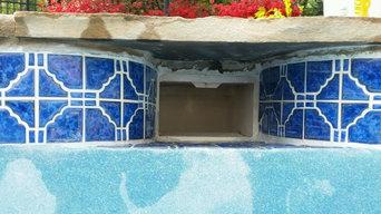 Tile Repair - Before & After