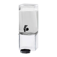 1.5 Gallon Square Glass Dispenser