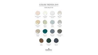 Цвет года 2019 (Metropolitan AF-690)