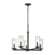 Crosby Chandelier 5-Light, Olde Bronze