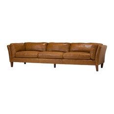 Merveilleux Design Tree Home   Draper 4 Seater Leather Sofa   Sofas