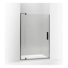 """Kohler - Revel Pivot Shower Door, 74""""x43-1/8 - 48"""", Anodized Dark Bronze - Shower Doors"""