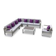 7-Piece Fairy Outdoor Sofa Sectional Set