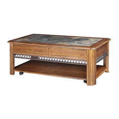 Slate Top Coffee Tables Houzz