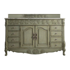 "St. James 60"" Single Vanity, Celadon"