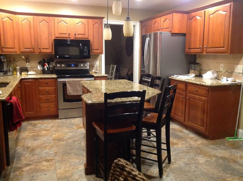 How Can I Update Brighten My Kitchen Without Painting