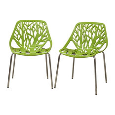 gg baxton studio 5 piece modern dining set 2. baxton studio - birch sapling plastic modern dining chairs, green, set of gg 5 piece 2 s