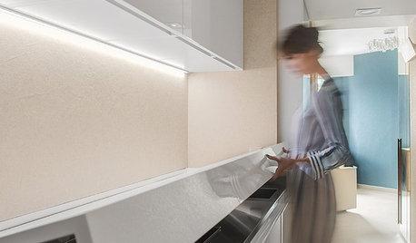 Проект недели: Проходная кухня в коридоре, которую легко спрятать