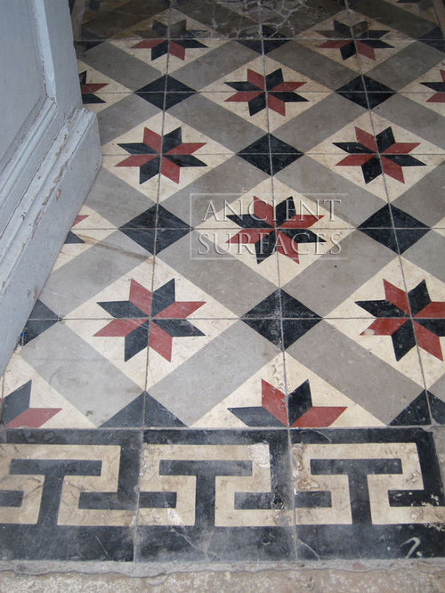 Cement squared tiles - Encaustic tiles - Wall And Floor Tile