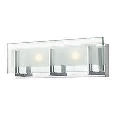 Hinkley Latitude Bath 2-Light Vanity, Chrome