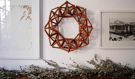A Cinnamony Twist for Your Holiday Wreath