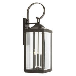 "Gibbes Street 3-Light Large Wall Lantern, 9.5"""