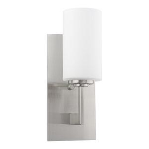 """Revel / Kira Home Celene 13"""" Bathroom Wall Light/ Sconce, Frosted Glass Shade, B"""