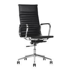 Reginald Office Chair, Black