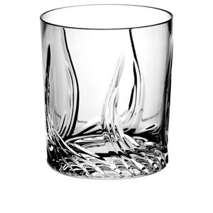 Monika Aurora Lead Crystal Whisky Glasses, Set of 6