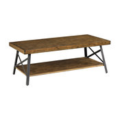 "Chandler 48"" Cocktail Table, Pine Brown"