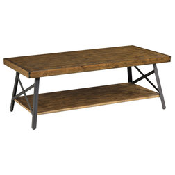 Industrial Coffee Tables by Emerald Home